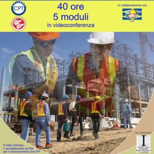 Corso di Aggiornamento per Coordinatore per la sicurezza nei cantieri temporanei e mobili D.Lgs 81/08 CPT Salerno
